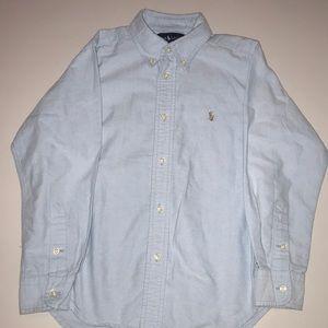 Boys polo Oxford shirt